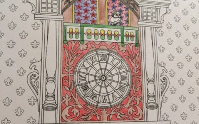 My adventure with an adult coloring book