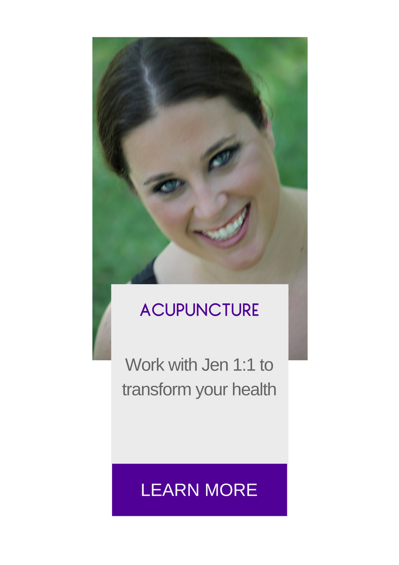 Acupuncture with Jen Yocum