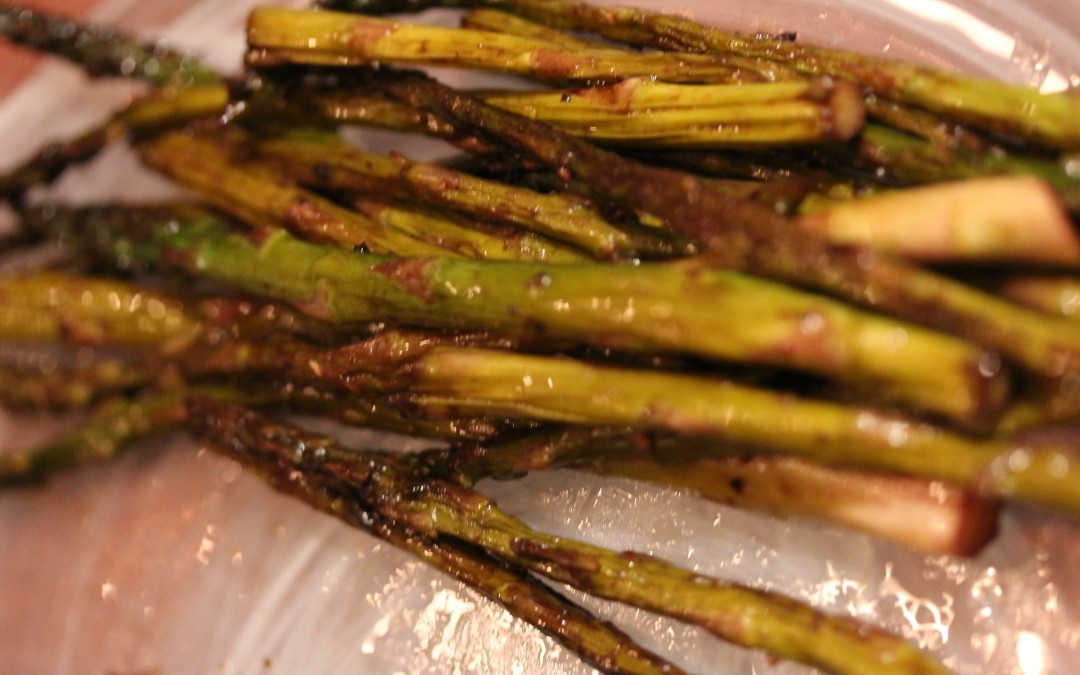 Balsamic Sauteed Asparagus