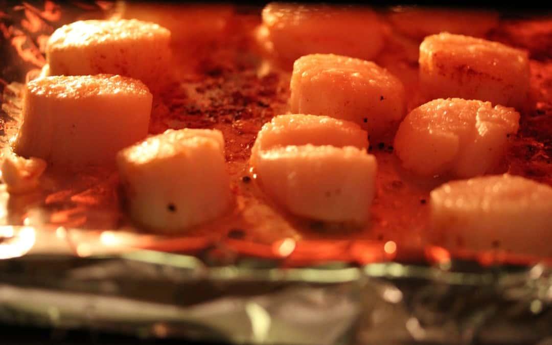 Broiled Sea Scallops