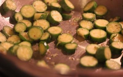 Sauteed Baby Zucchini